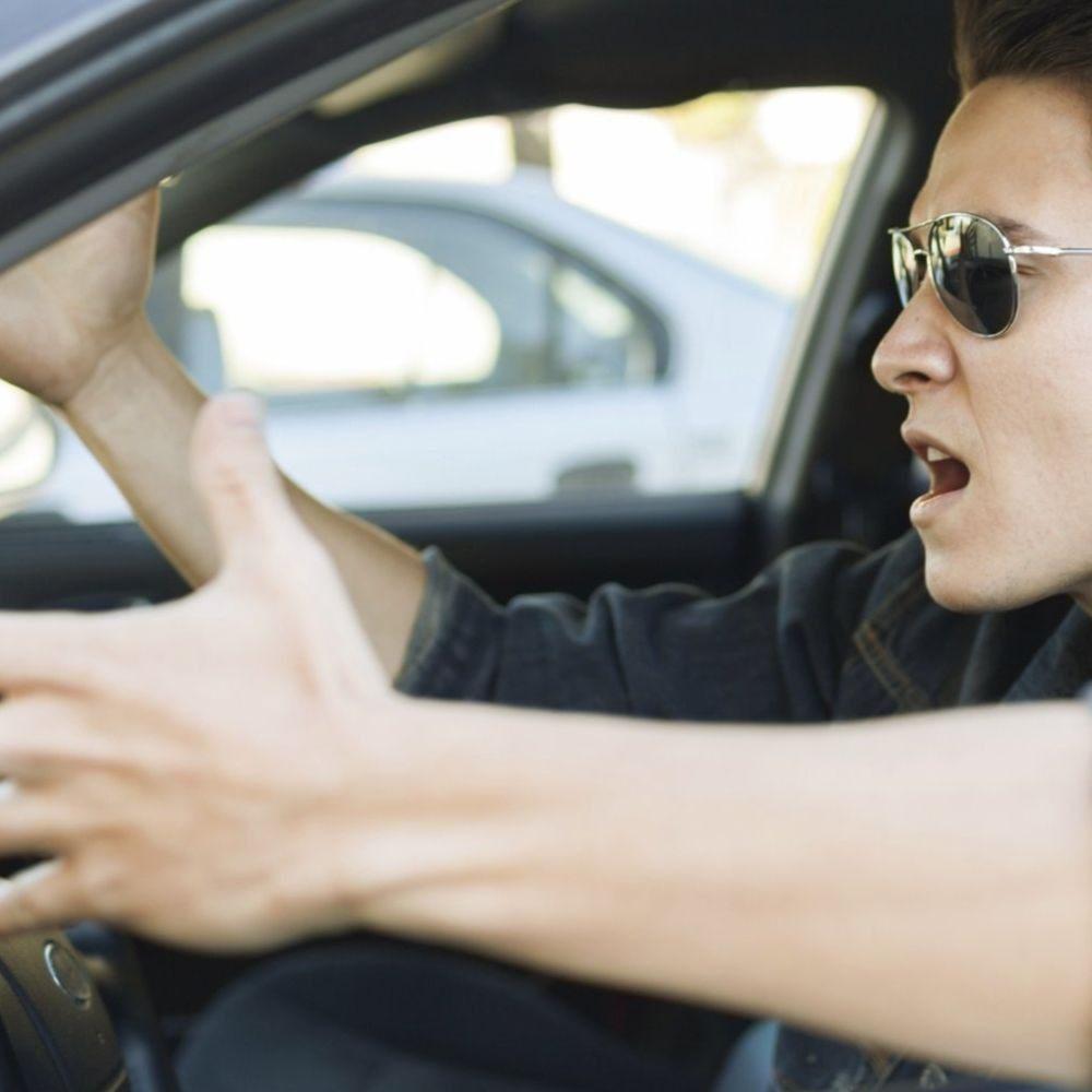 Из-за чего водители чаще всего матерятся