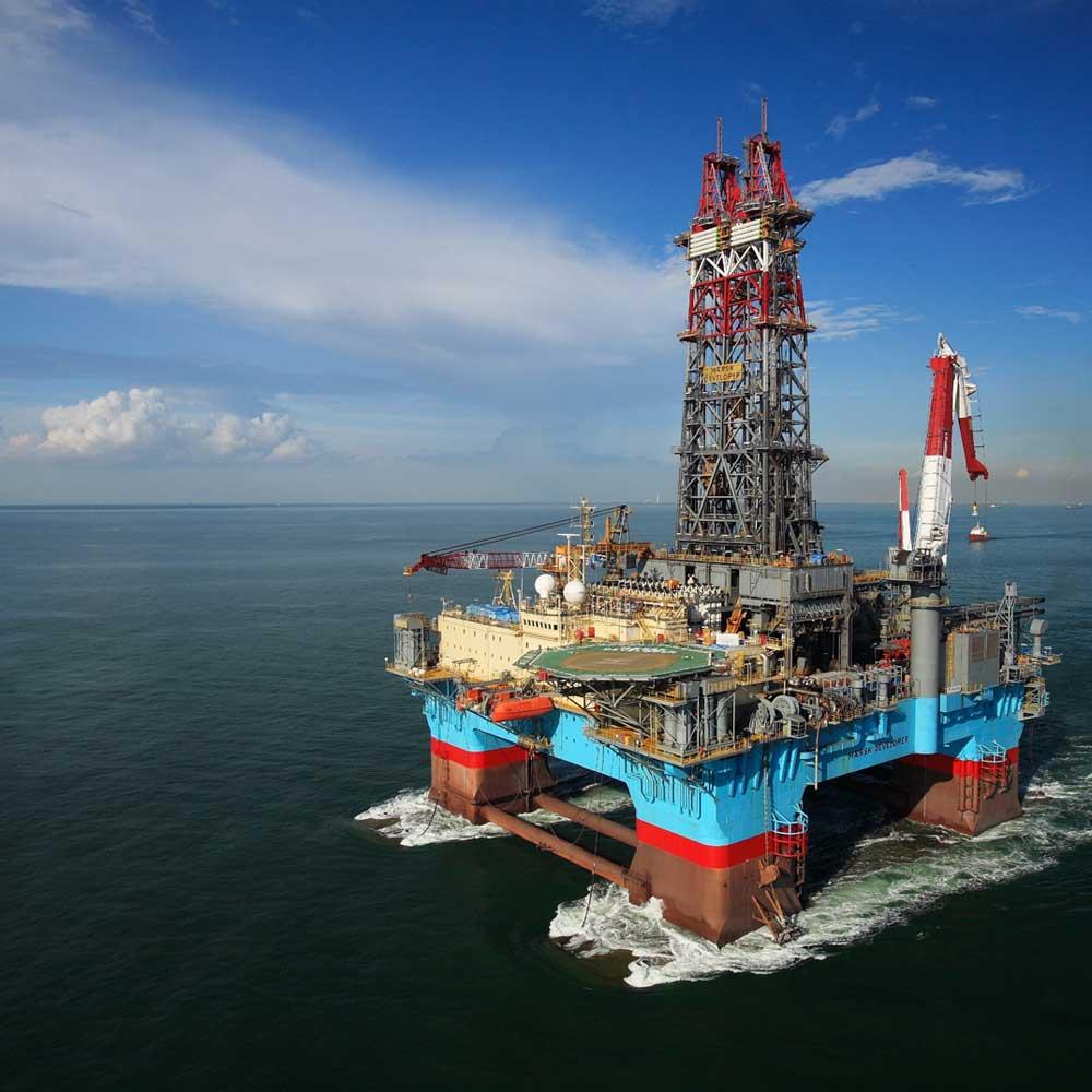 Буровая платформа американской компанией ExxonMobil прибыла на Кипр
