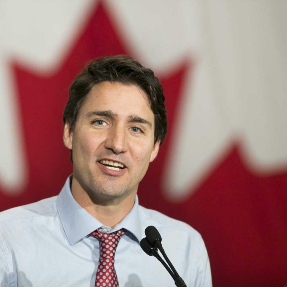 Канадский премьер посетил Кипр по пути домой