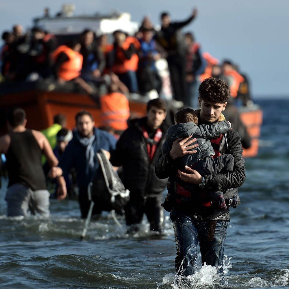 Новая группа мигрантов высадилась на Кипре