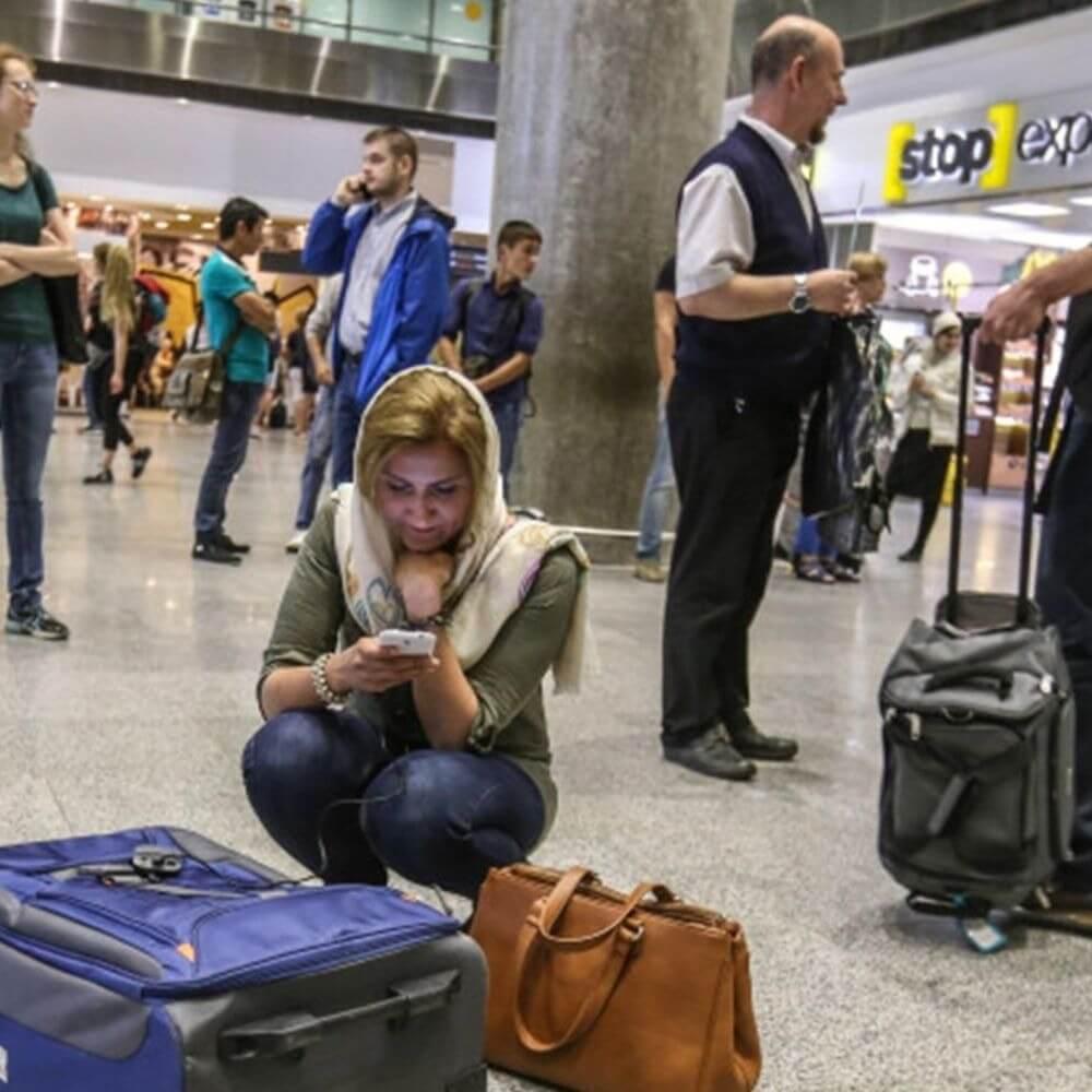 Сам улетай – чемодан оставляй: часть пассажиров улетели из Ларнаки без багажа