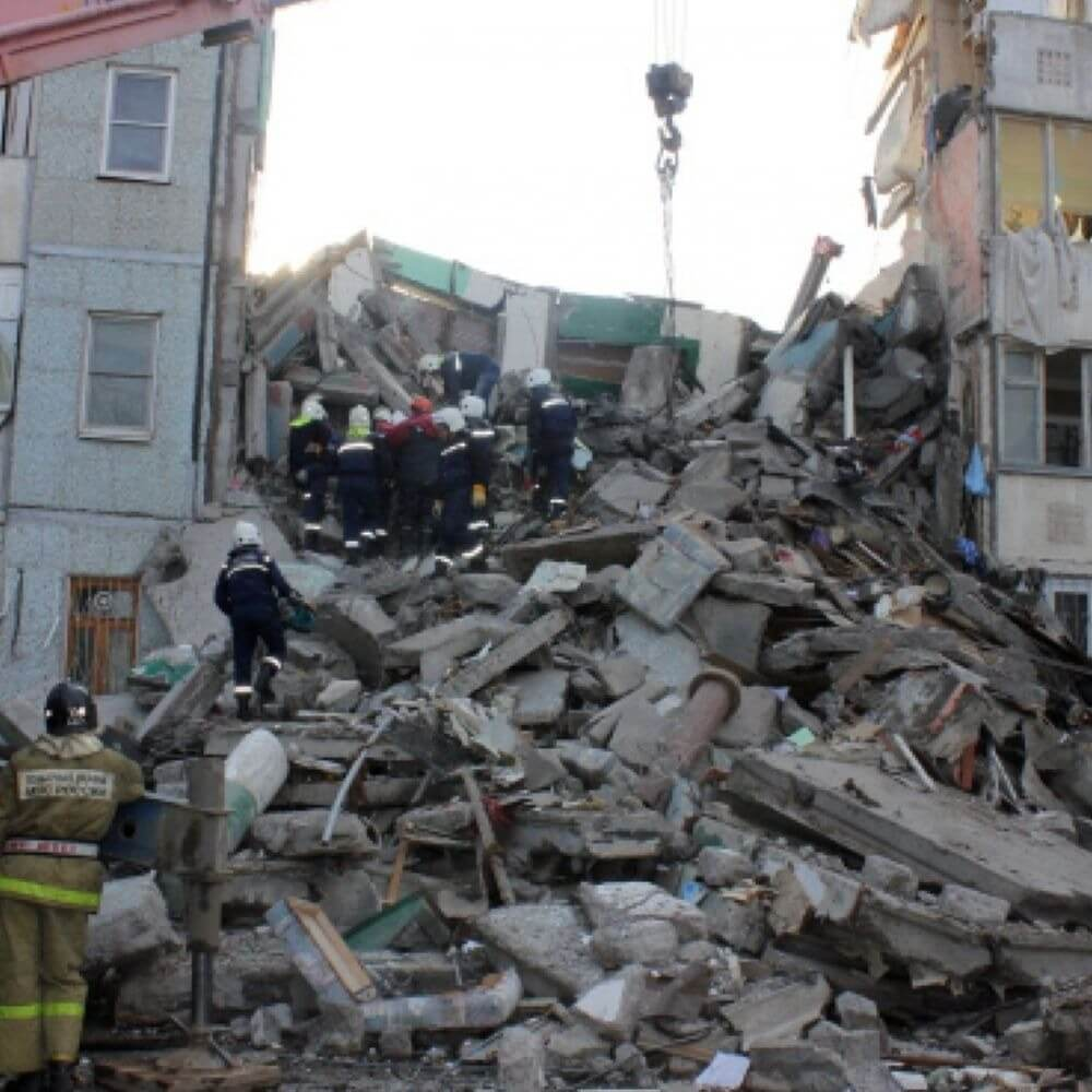 Четыре человека до сих пор числятся пропавшими без вести после частичного обрушения дома в Магнитогорске