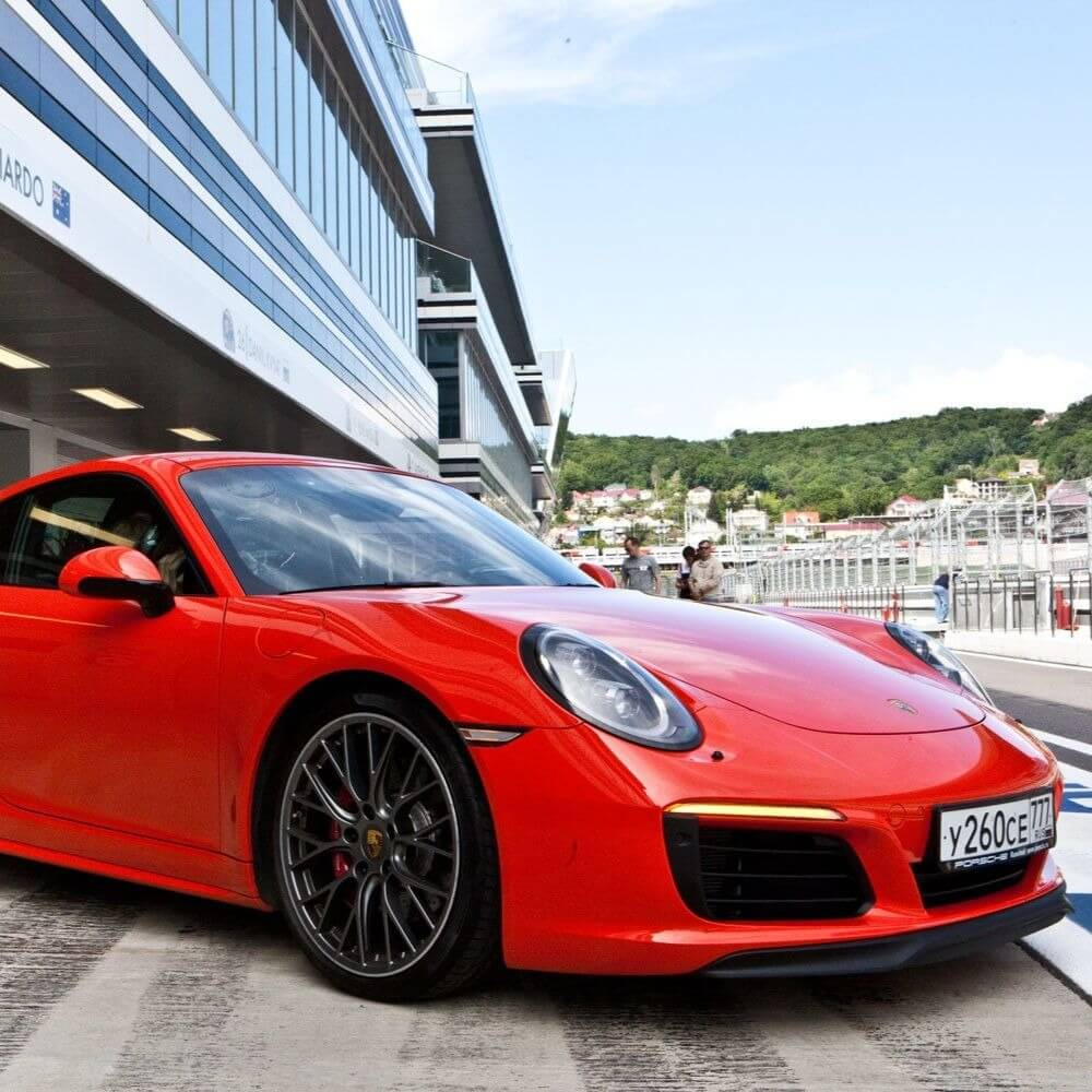 НОВЫЙ Porsche 911 кабрио