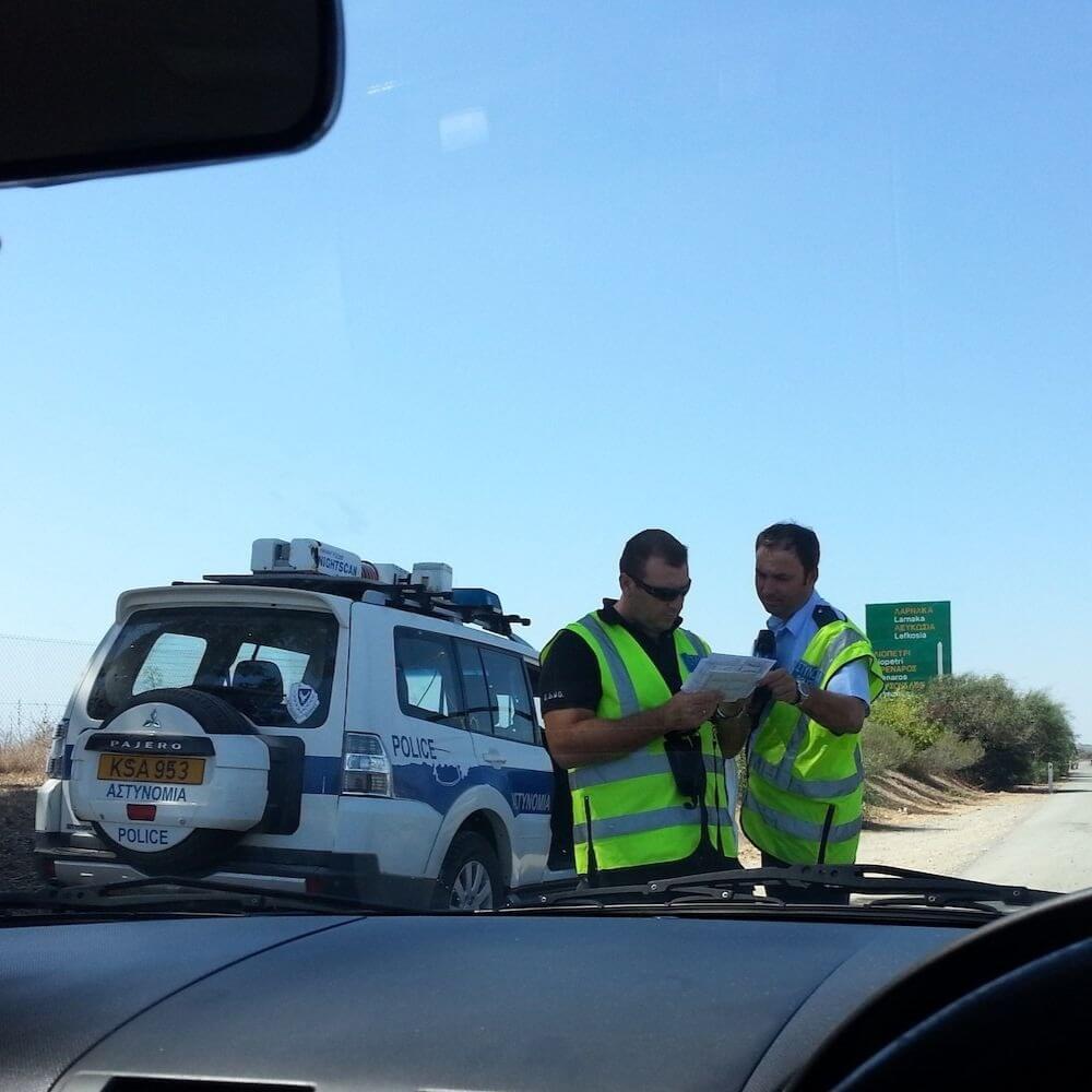 Превышение скорости на Кипре – 2,5 тыс. «гонщиков» за 2 недели